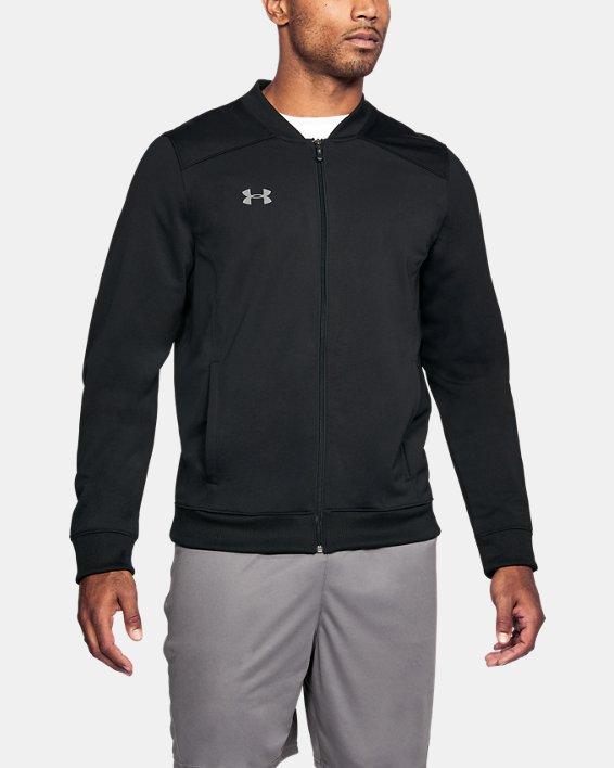Men's UA Challenger II Track Jacket, Black, pdpMainDesktop image number 0