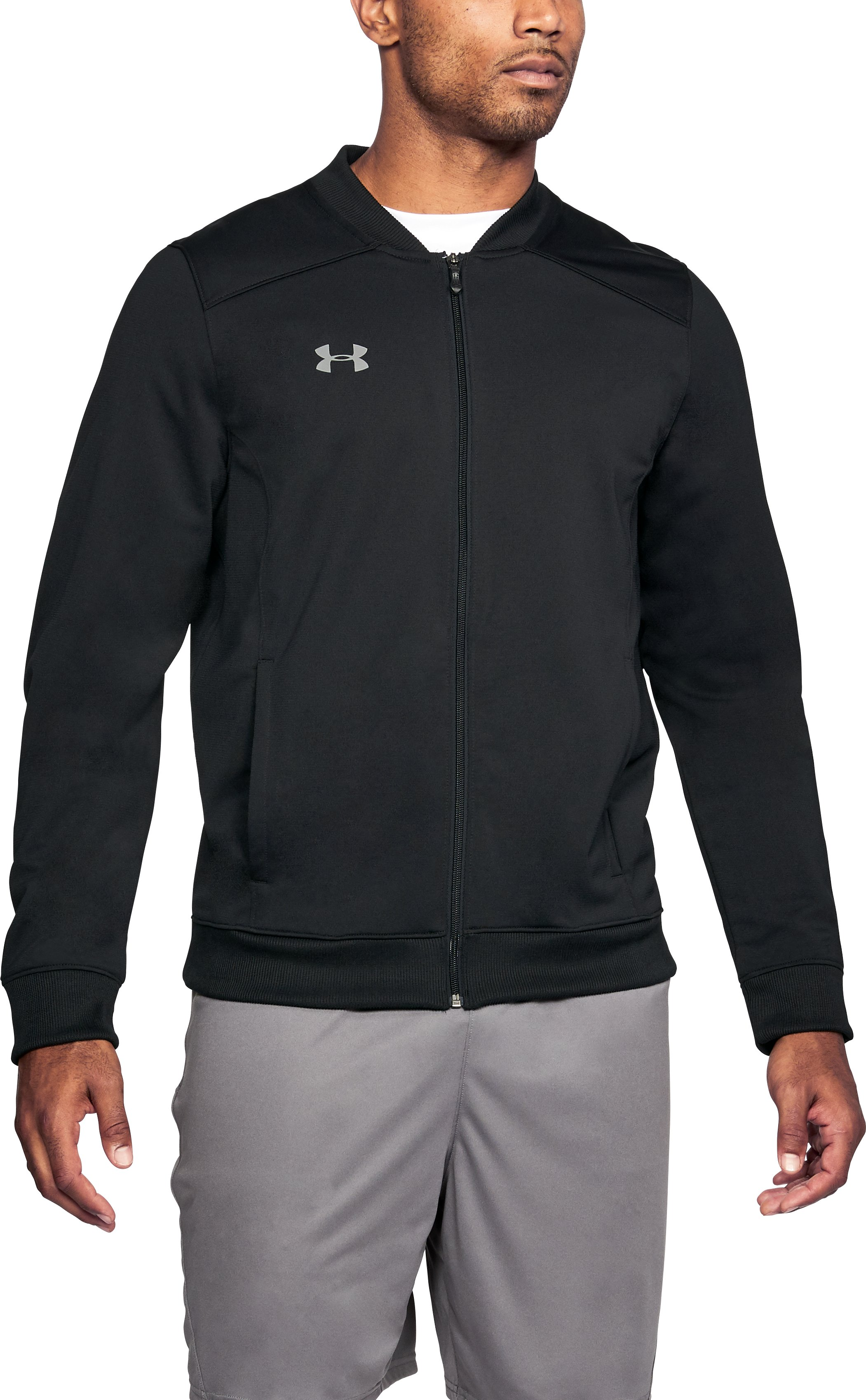 Men's UA Challenger II Track Jacket, Black ,