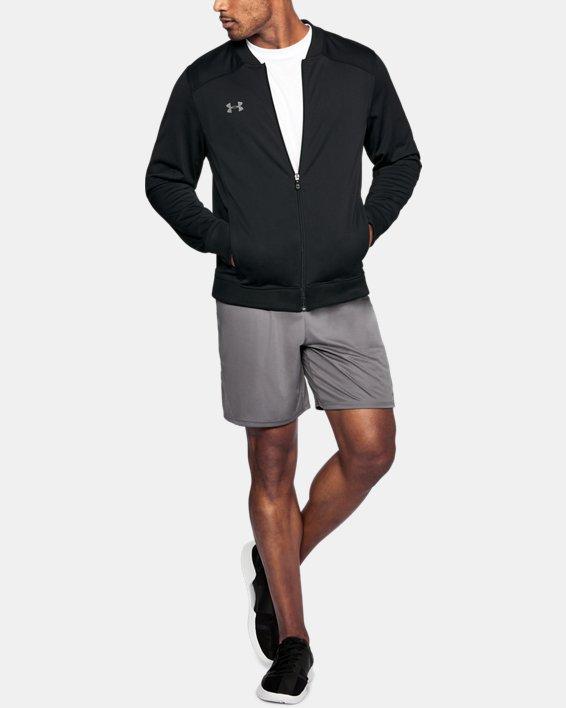 Men's UA Challenger II Track Jacket, Black, pdpMainDesktop image number 1