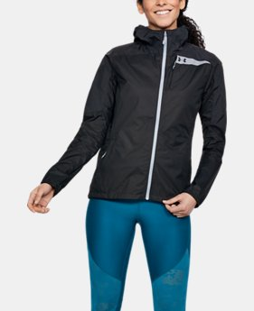 Women's UA Scrambler Hybrid Jacket  1  Color Available $130
