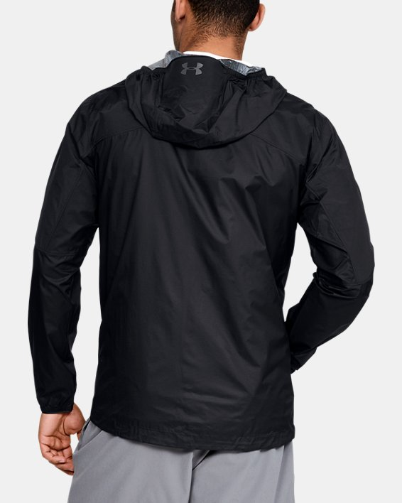 Men's UA Scrambler Hybrid Jacket, Black, pdpMainDesktop image number 2