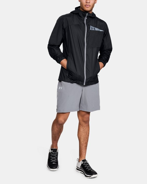 Men's UA Scrambler Hybrid Jacket, Black, pdpMainDesktop image number 1