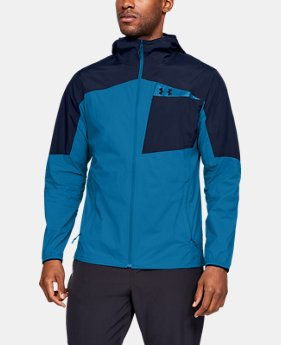 Men's UA Scrambler Hybrid Jacket  1  Color Available $130