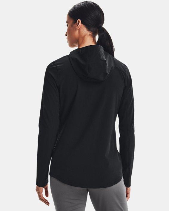 Women's UA Challenger II Storm Shell Jacket, Black, pdpMainDesktop image number 2