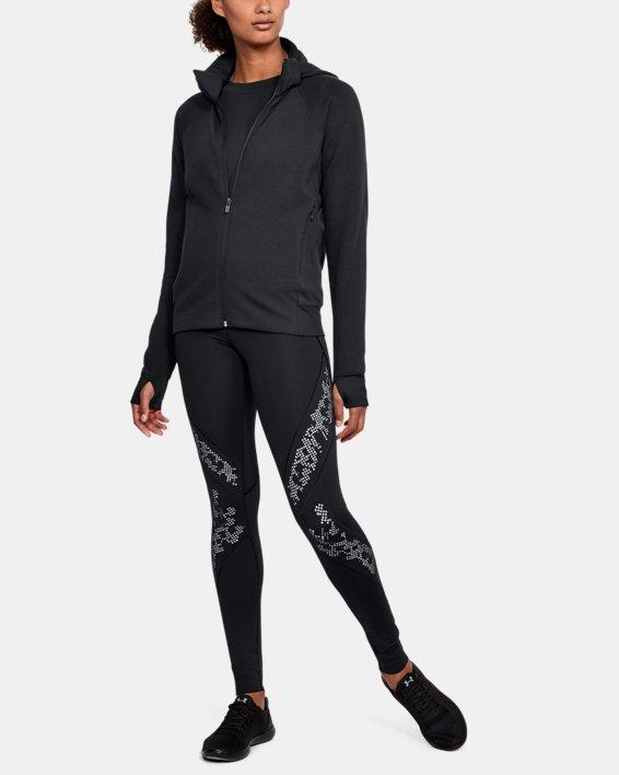 Women's UA Spacer Full Zip Jacket, Black, pdpMainDesktop image number 1