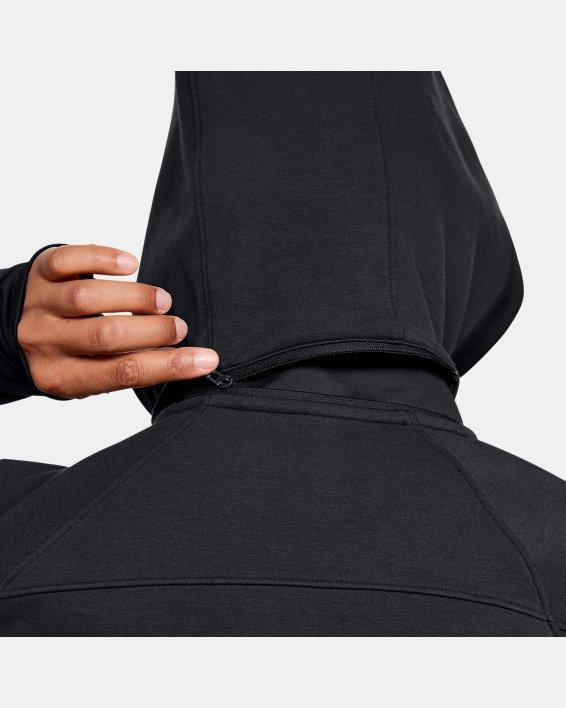 Women's UA Spacer Full Zip Jacket, Black, pdpMainDesktop image number 6