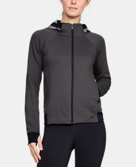 Women's UA Spacer Full Zip Jacket  2  Colors Available $127.99