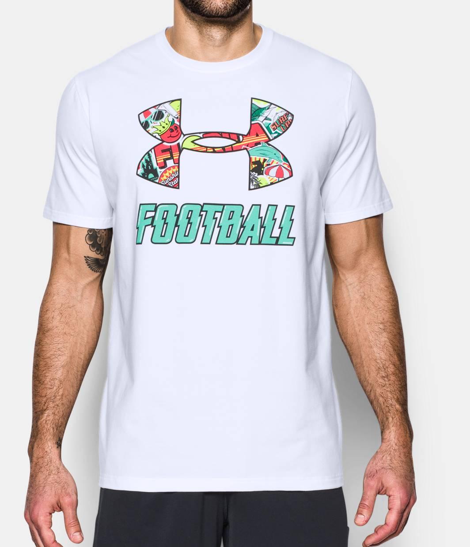 Men 39 s ua florida football t shirt under armour us for Under armor football shirts