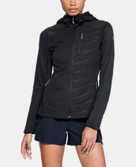 New to Outlet Women's ColdGear® Reactor Exert Jacket  1  Color Available $90