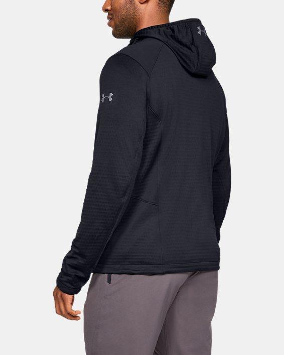 Men's ColdGear® Reactor Exert Jacket, Black, pdpMainDesktop image number 2