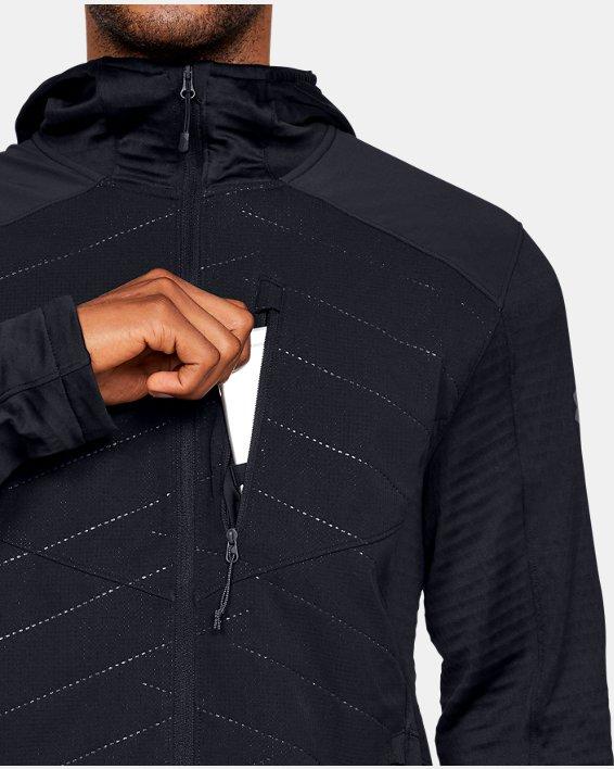 Men's ColdGear® Reactor Exert Jacket, Black, pdpMainDesktop image number 5