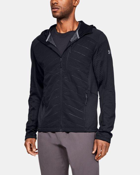 Men's ColdGear® Reactor Exert Jacket, Black, pdpMainDesktop image number 0