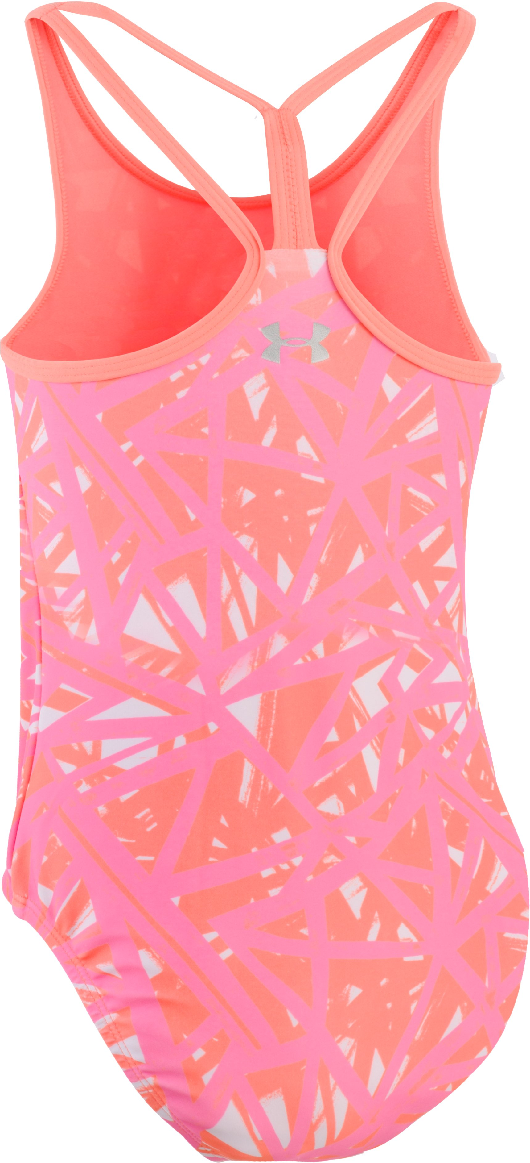 Girls' UA Divergent 1-Piece, LONDON ORANGE