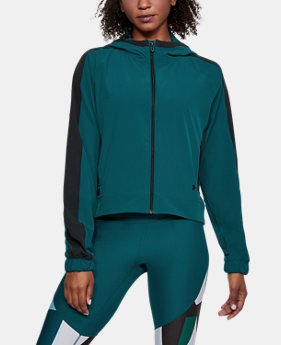 Women's UA Storm Woven Full Zip Jacket  1 Color $90