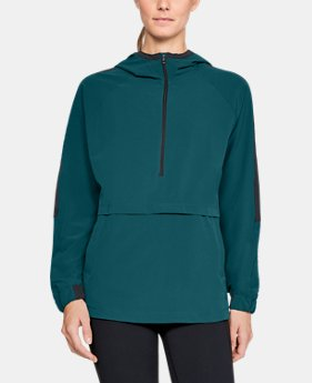 Women's UA Storm Woven Anorak Jacket  3  Colors Available $60