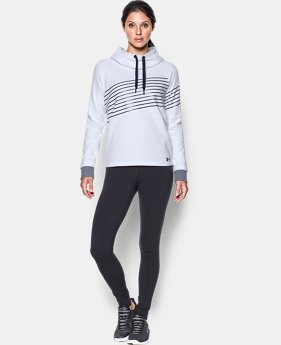 New Arrival  Women's UA Threadborne Fleece Fashion Hoodie  1 Color $74.99