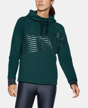 Women's UA Threadborne Fleece Fashion Hoodie LIMITED TIME OFFER 1 Color $52.49
