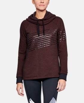PRO PICK Women's UA Threadborne Fleece Fashion Hoodie LIMITED TIME OFFER 1 Color $41.99