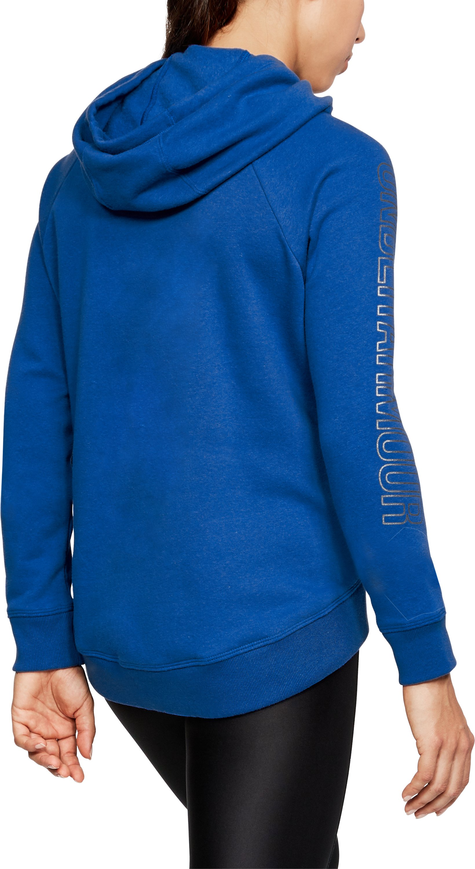 Women's UA Favorite Fleece Pullover, LAPIS BLUE, undefined