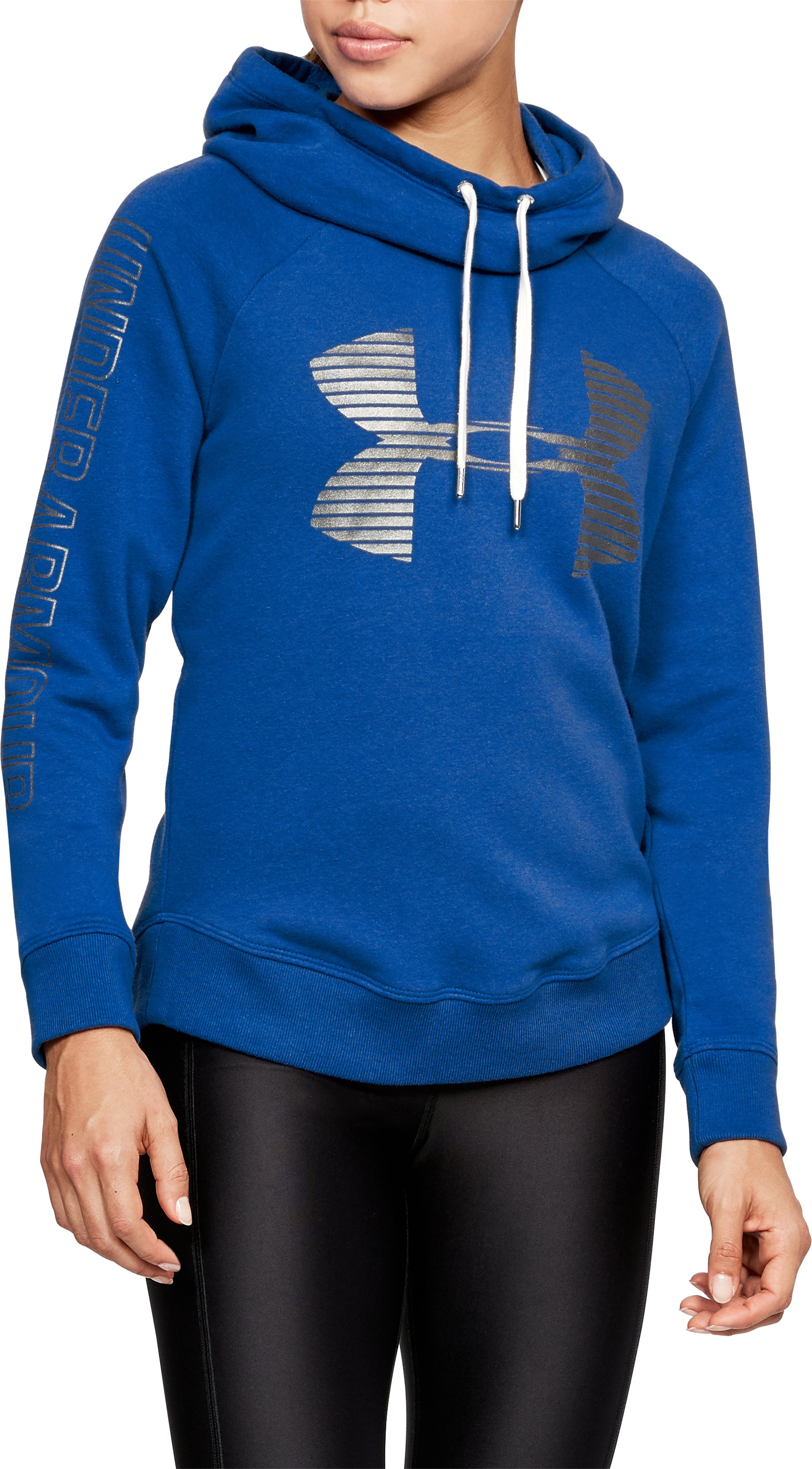 Women's UA Favorite Fleece Pullover, LAPIS BLUE