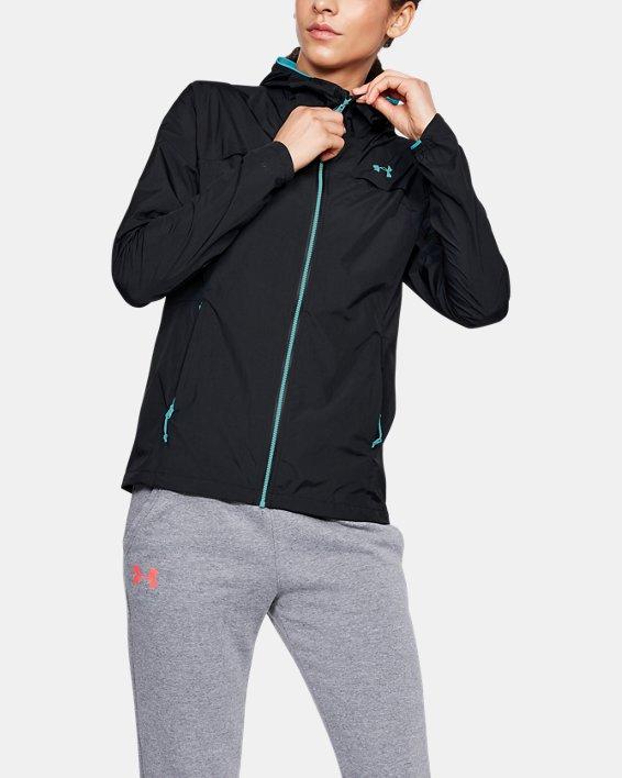 Women's UA Scrambler Jacket, Black, pdpMainDesktop image number 0