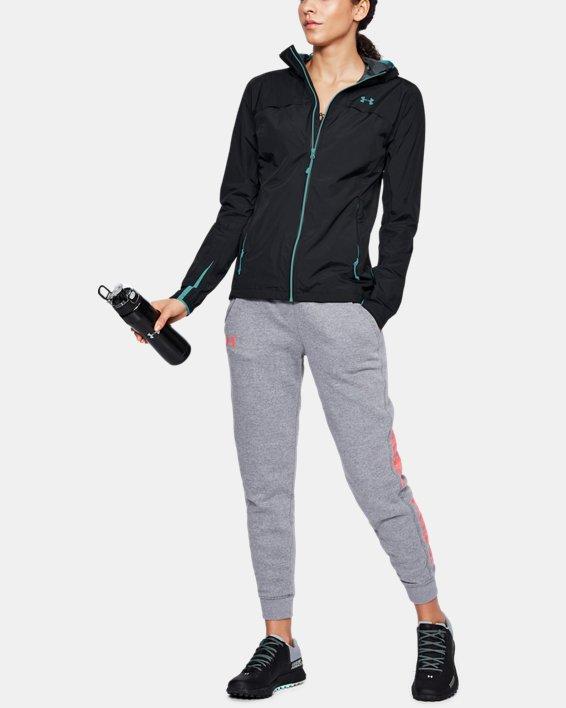 Women's UA Scrambler Jacket, Black, pdpMainDesktop image number 1
