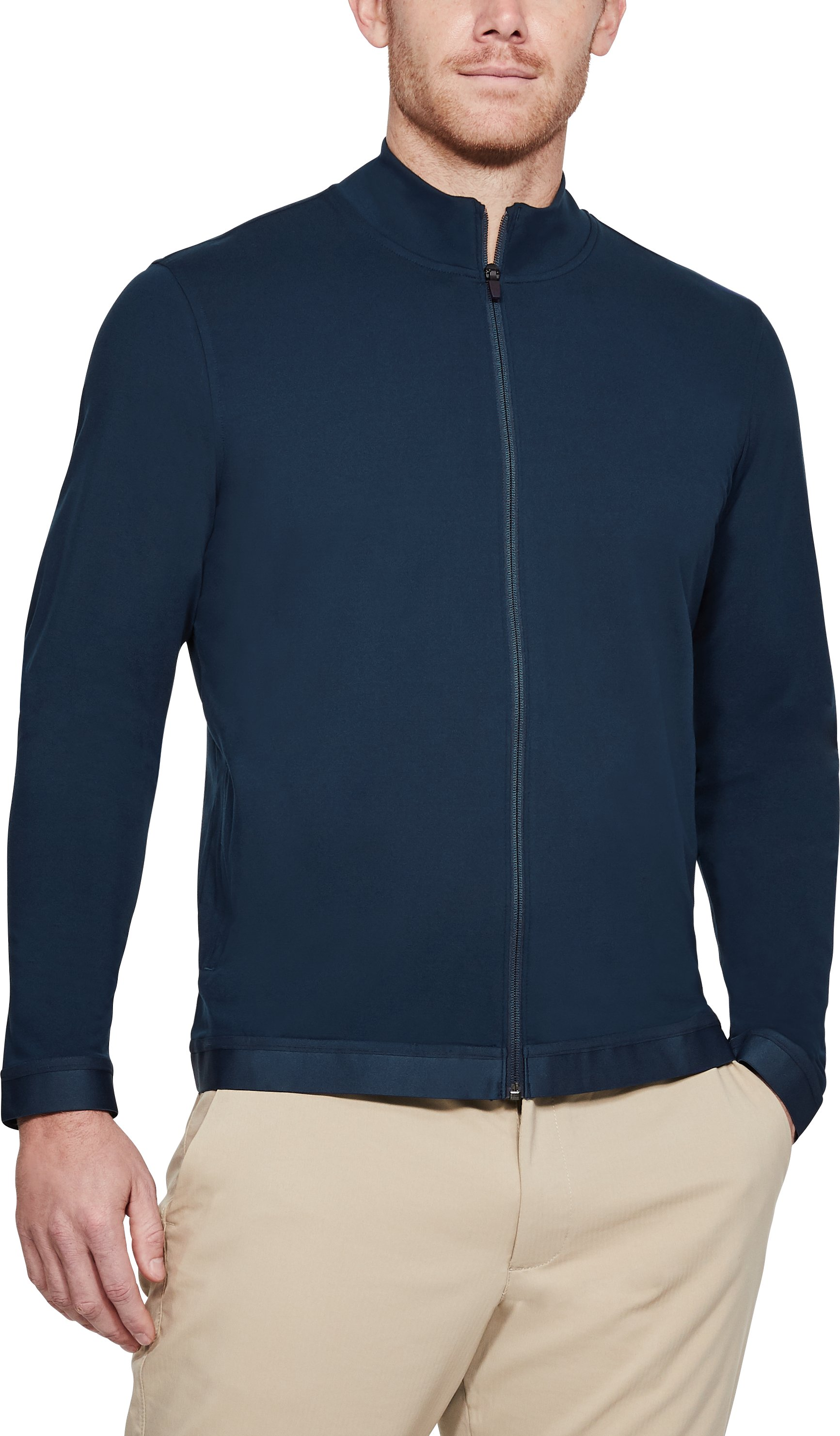Men's UA Playoff Full Zip, Academy, undefined