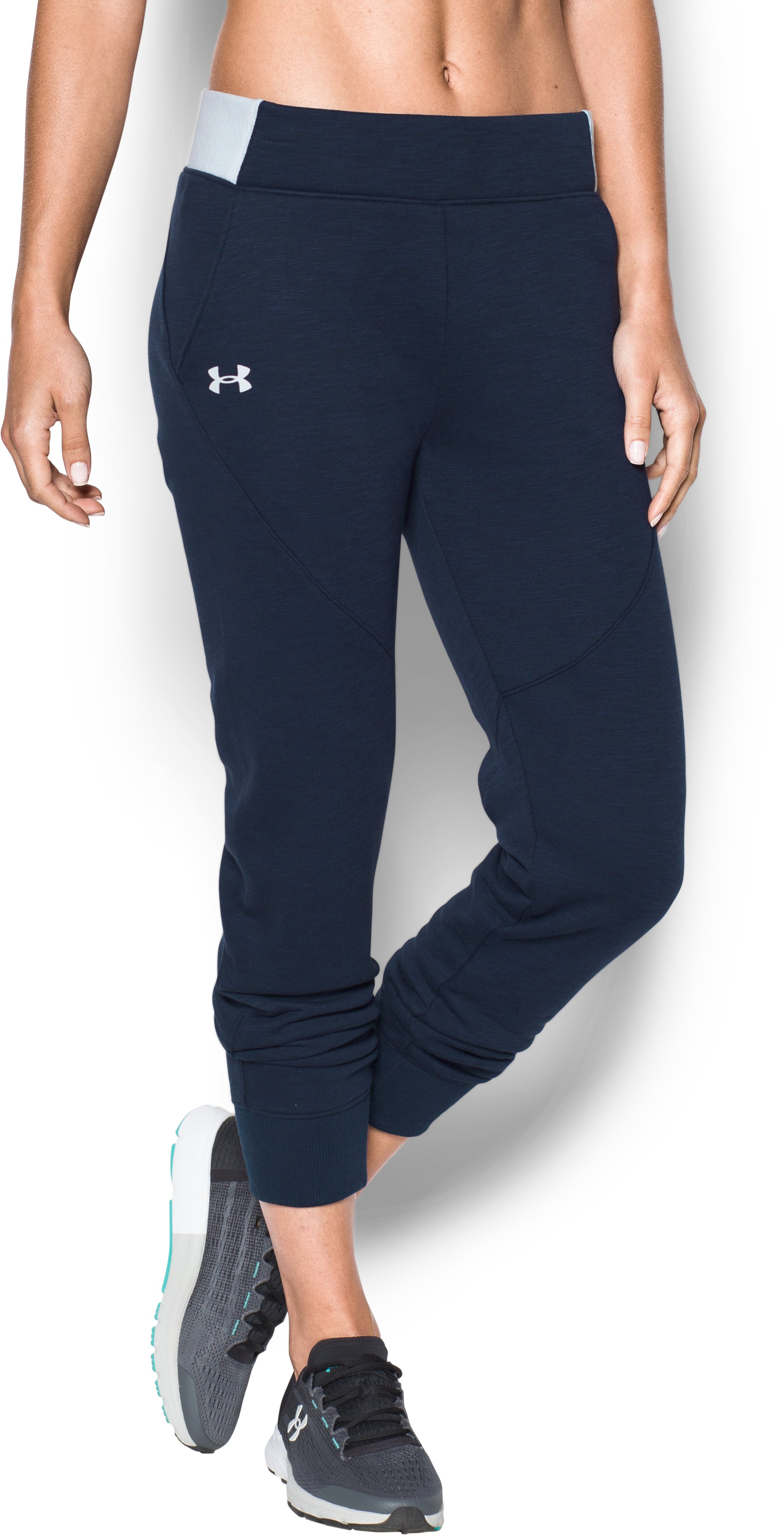 Women's UA Stars & Stripes Joggers, Midnight Navy