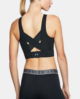 Women's UA Favorite Cotton Everyday Long Sports Bra  1  Color Available $45
