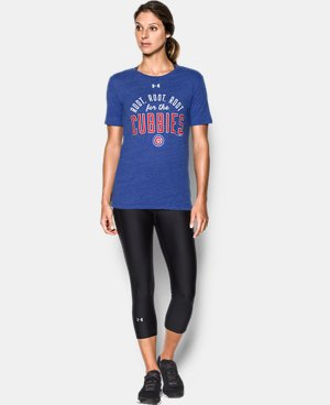 New Arrival Women's Chicago Cubs World Series Neon Champs   1 Color $32.99