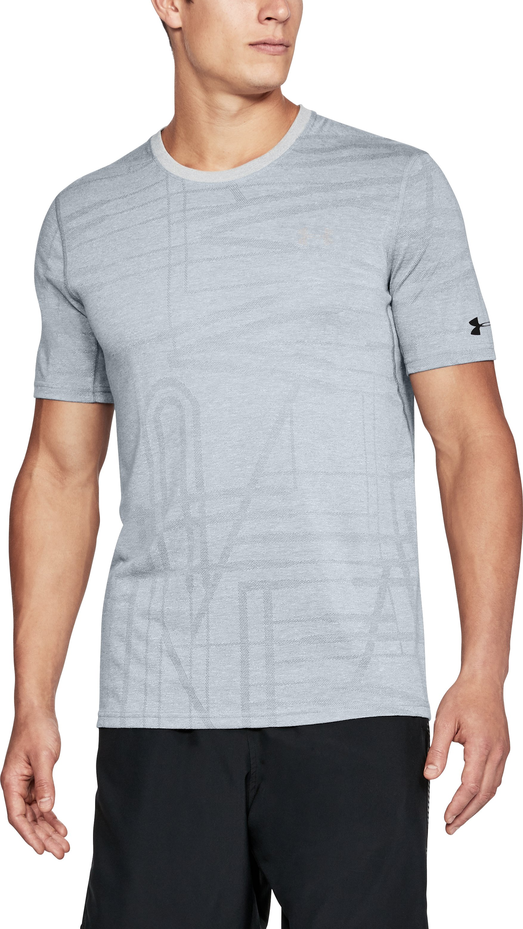 Men's UA Siro Elite Short Sleeve, Steel,