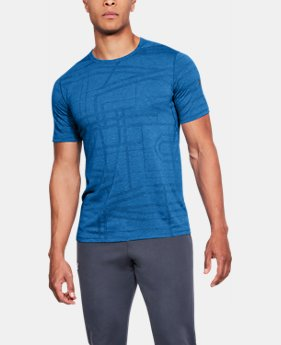Men's UA Siro Elite Short Sleeve  1  Color Available $45