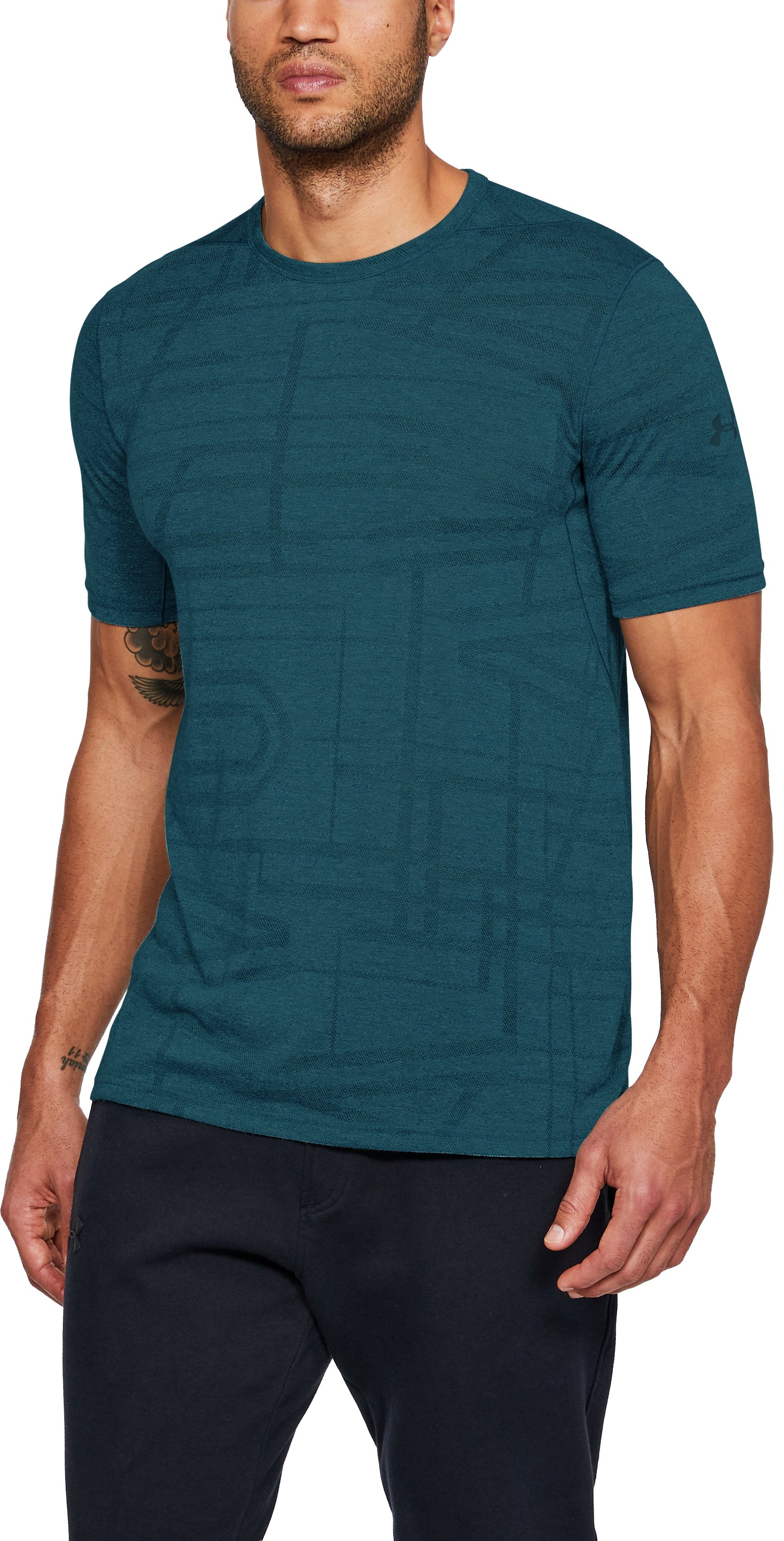 Men's UA Siro Elite Short Sleeve, TOURMALINE TEAL