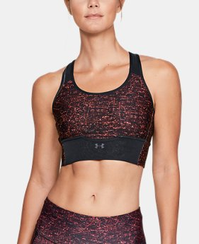 Women's UA Armour® Crossback Clutch Print Sports Bra  1  Color Available $65