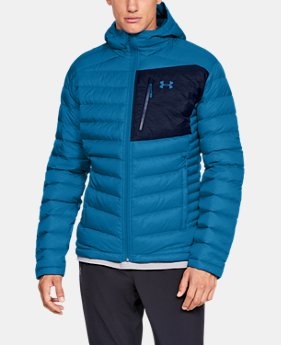 New Arrival Men's UA Iso Down Hooded Jacket  2  Colors Available $250