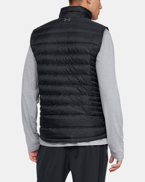 Men's UA Iso Down Vest, Black, pdpMainDesktop image number 2