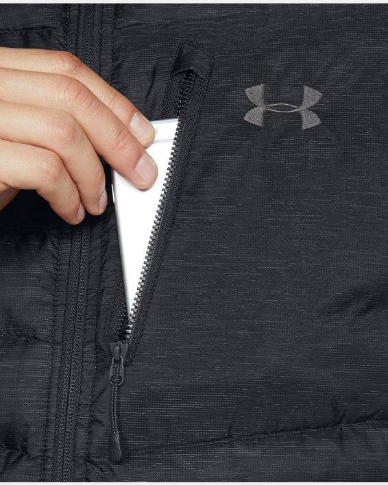 Men's UA Iso Down Vest, Black, pdpMainDesktop image number 5