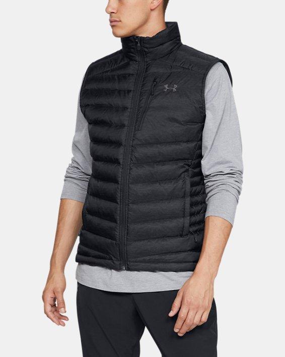 Men's UA Iso Down Vest, Black, pdpMainDesktop image number 0
