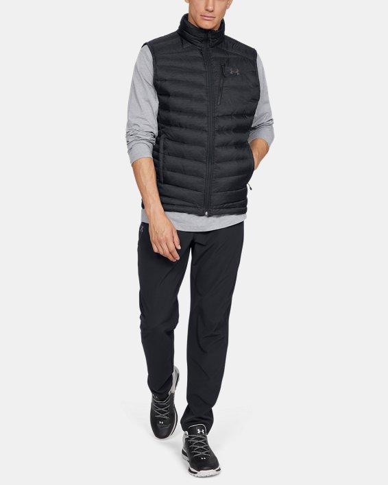 Men's UA Iso Down Vest, Black, pdpMainDesktop image number 1