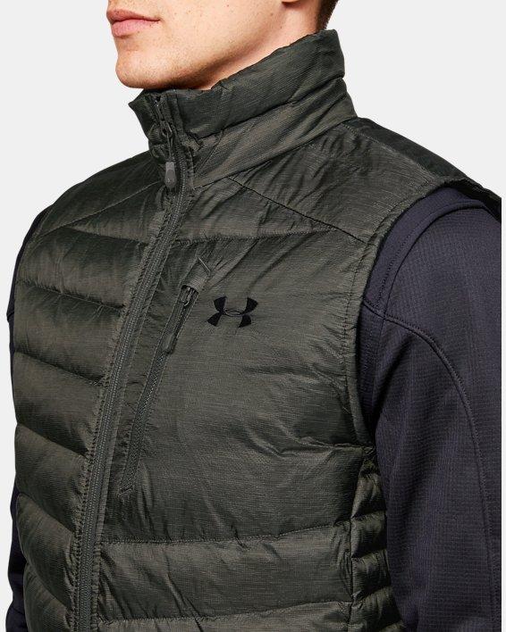 Men's UA Iso Down Vest, Green, pdpMainDesktop image number 5