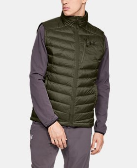 Men's UA Iso Down Vest  1  Color Available $180