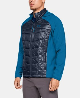 Men's UA Encompass Hybrid Jacket  1  Color Available $114 to $142.5