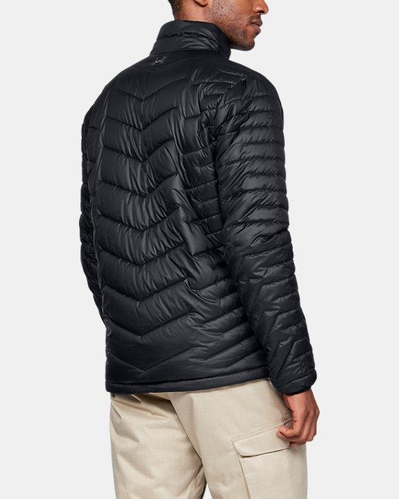 Men's ColdGear® Reactor Jacket, Black, pdpMainDesktop image number 2