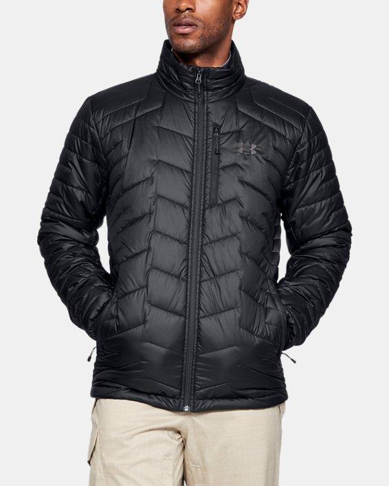 Men's ColdGear® Reactor Jacket, Black, pdpMainDesktop image number 0