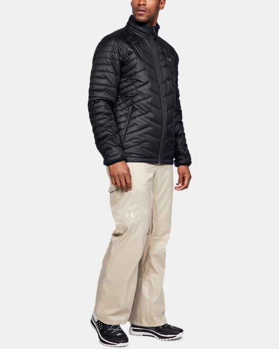 Men's ColdGear® Reactor Jacket, Black, pdpMainDesktop image number 1