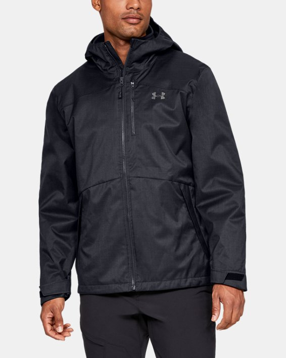 Men's UA Porter 3-in-1 Jacket, Black, pdpMainDesktop image number 0