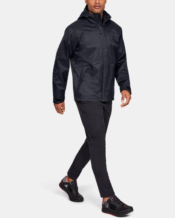 Men's UA Porter 3-in-1 Jacket, Black, pdpMainDesktop image number 1
