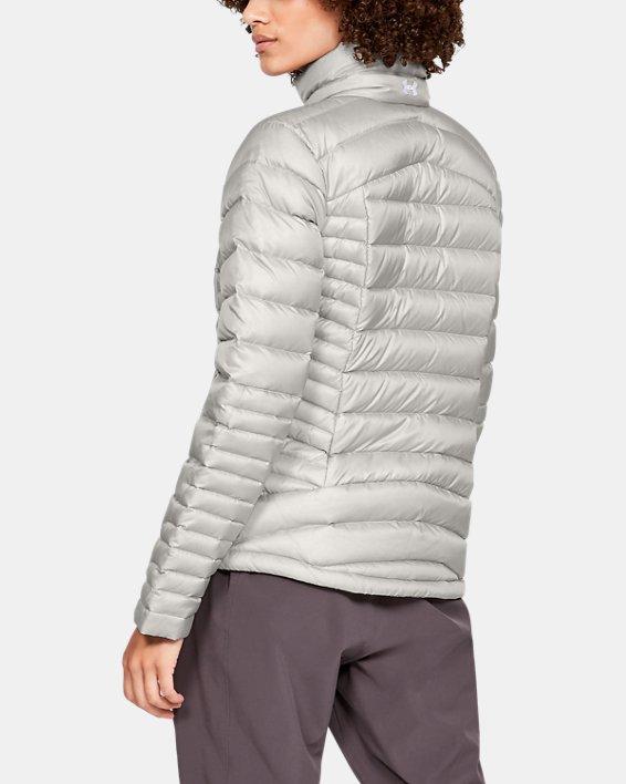Women's UA Iso Down Jacket, Gray, pdpMainDesktop image number 2