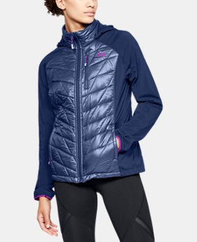 Women's UA Encompass Hybrid Jacket  1  Color Available $180 to $190
