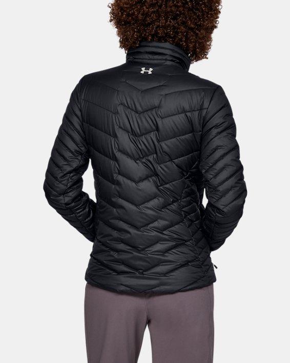 Women's ColdGear® Reactor Jacket, Black, pdpMainDesktop image number 2